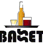 BASSET Logo of drinks on a tray